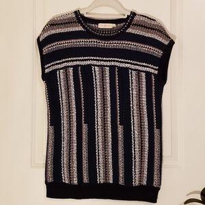 Tory Burch short sleeve knit sweater